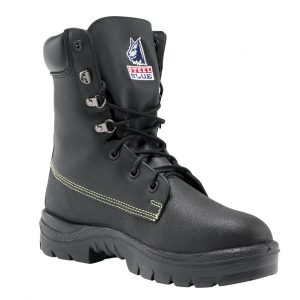 Steel Blue Jarrah 322313 Black Nitrile High Leg Safety Boot