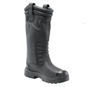 Steel Blue  Mackay 382835 Black Nitrile High Leg Safety Boot