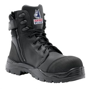 Steel Blue Torquay Zip Nitrile 627539 Safety Boots Black