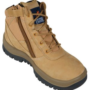 Mongrel 261050 Zip Side Safety Boot Wheat