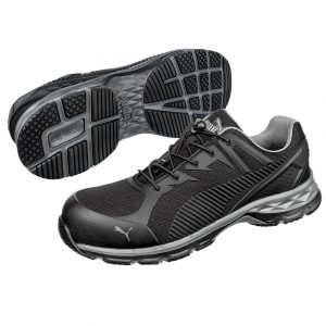Puma 643837 Relay  Safety Jogger Black/Grey