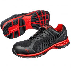 Puma 643897 Relay  Safety Jogger Black/Red