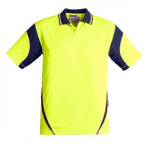 Syzmik ZH248 Mens Hi Vis Aztec Polo - Short Sleeve
