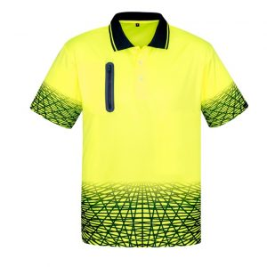 Syzmik ZH300 Mens Tracks Polo