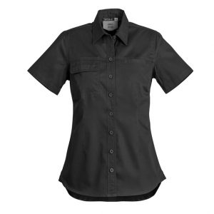 Syzmik ZWL120 LadiesLightweight Tradie Shirt - Short Sleeve