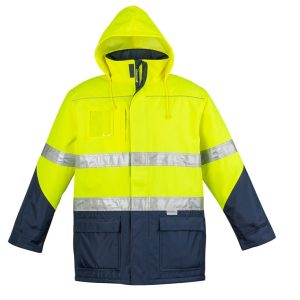 Syzmik ZJ350 Mens Hi Vis Storm Jacket