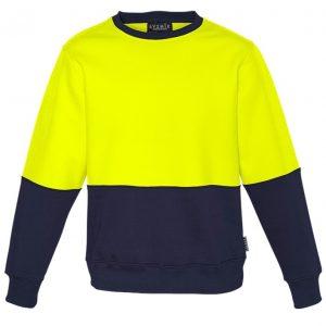 Syzmik ZT465 Unisex Hi Vis Crew Sweatshirt