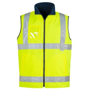 Syzmik ZV358 Mens Hi Vis Lightweight Fleece Lined Vest