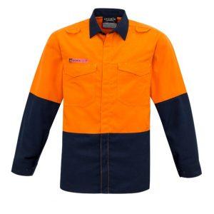 Syzmik ZW138 Mens Hi Vis Spliced Shirt
