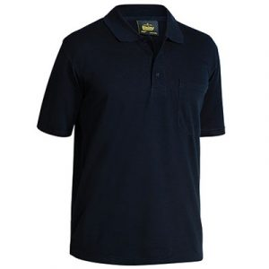 Bisley BK1290 Mens Poly/Cotton S/Sleeve Polo