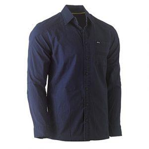 Bisley BS6146 Flex & Move Stretch L/Sleeve Shirt