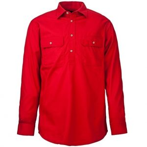Pilbara RM400CF Childrens Original Pilbara Closed Front Long Sleeve Shirt