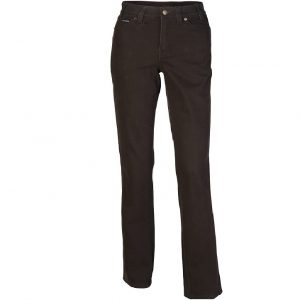 Pilbara RMPC015 Ladies Cotton Stretch Jean Mid Rise - Straight Leg - Classic Fit
