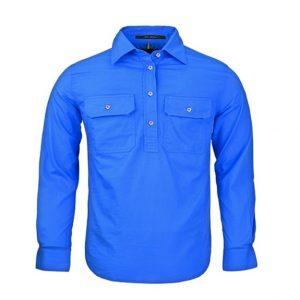 Pilbara RM400CF Childrens Original Pilbara Closed Front Long Sleeve Shirt