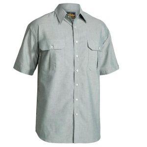 Bisley BS1030 Mens Oxford S/Sleeve Shirt