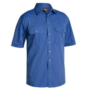 Bisley BS1031 Mens Metro S/Sleeve Shirt