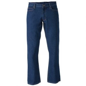 Bisley BP6053 Industrial Straight Leg Work Denim Jean