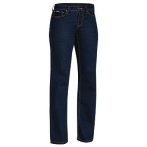 Bisley BPL6712 Ladies Rough Rider Denim Stretch Jeans