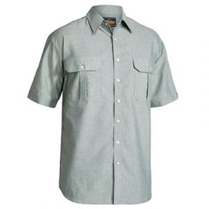 Bisley BS1030 Mens Oxford S/Sleeve Shirt