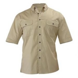 Bisley BS1255 Mens Mini Twill S/Sleeve Shirt