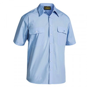 Bisley BS1526 Mens Permanent Press S/Sleeve Shirt