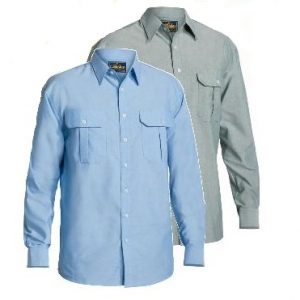 Bisley BS6030 Mens Oxford L/Sleeve Shirt
