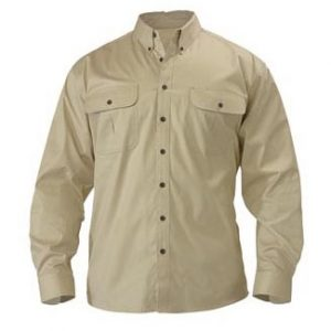 Bisley BS6255 Mens Mini Twill L/Sleeve Shirt