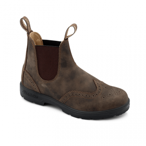 Blundstone 1471 Unisex Casual V Cut Boots Rustic Brown