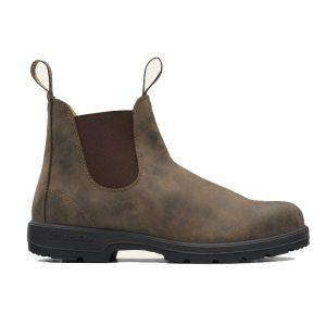 BLUNDSTONE 585 Unisex Classics Chelsea Boots - Rustic Brown