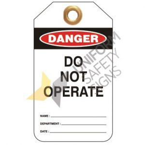 UDT300 Heavy Duty PVC Tags Pkt 25 -