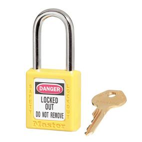 UL402 42mm Premium Yellow Safety Lockout