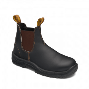 Blundstone 172 Stout Brown Slip On Safety Boots