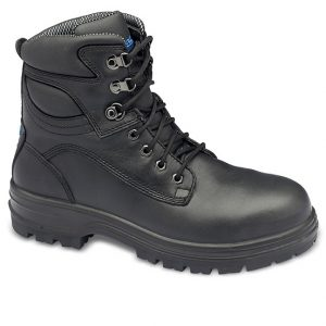 Blundstone 142 Lace Safety Boots Black