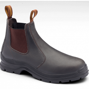 Blundstone 400 Brown Slip On Safety Boots