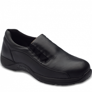 Blundstone 743 Women's Black Slip On Safety Shoes