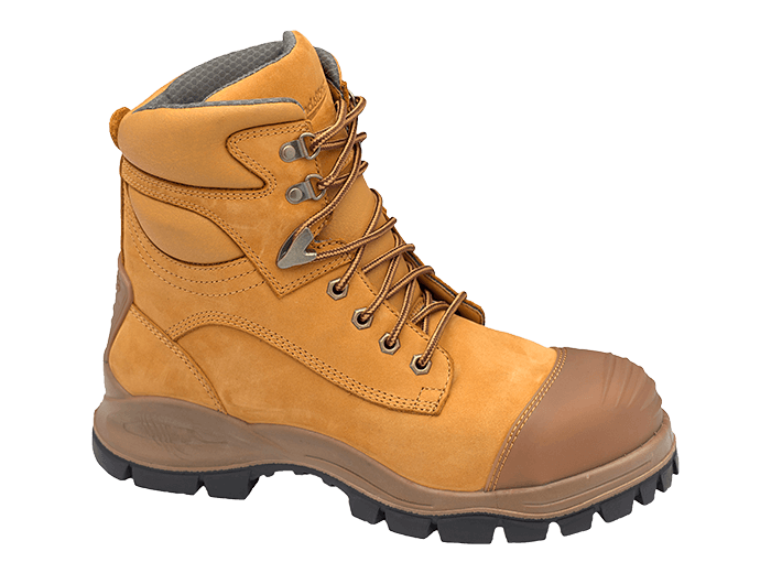 25bb7d7b297 Blundstone 998 Lace with Scuff Safety Boots Wheat
