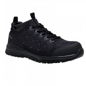KingGee K26525 Vapour Safety Shoe Black/Grey