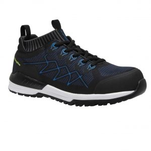 KingGee K26530 Vapour Safety Shoe Black/Blue