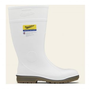 BLUNDSTONE 006 UNISEX GUMBOOT SERIES SAFETY GUMBOOTS - WHITE