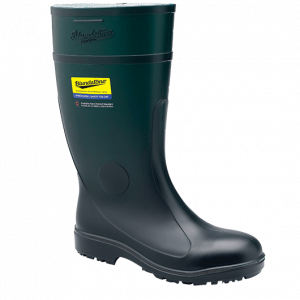 BLUNDSTONE Safety 007 PVC/Nitrile Gumboot Green