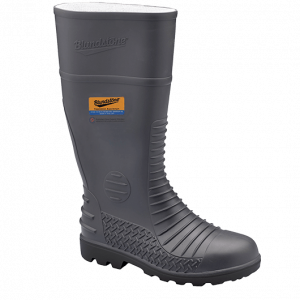 Blundstone 024 Safety Gumboots Grey