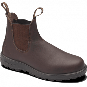 Blundstone 200 Chestnut Slip On Safety Boots