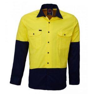 Ritemate RM107V2 Light Weight Cotton Shirt L/Sleeve