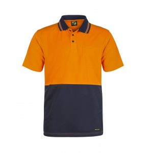 Workcraft WSP201 Two-Toned Hi Vis S/S Polo