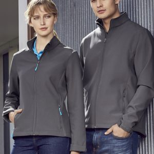 Biz Collection J740L Womens Apex Lightweight Softshell Jacket