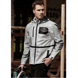 Biz Collection ZJ380 Unisex Streetworx Reflective Waterproof Jacket