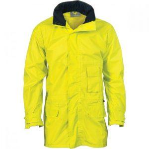DNC 3706 Hi Vis Rain Jacket