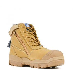 Bata Industrials Horizon 756-43960 Zip Side Safety Boots Wheat