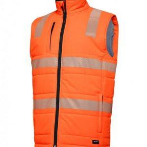 King Gee K55020 Hi Vis Puffer Vest
