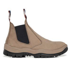 Mongrel 240060 Slip On Safety Boot Stone